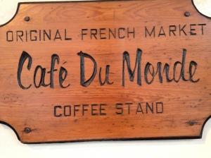 Cafe Du Monde Sign