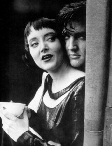 Elvis and Carolyn Jones