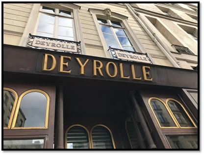 Deyrolle shop front